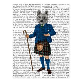 Westhochland Terrier in Kilt 3 Postkarten