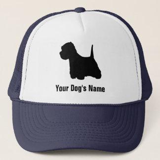Westhochland-weißes Terrier ウェスト ・ ハイランド ・ ホワイトテリア Truckerkappe