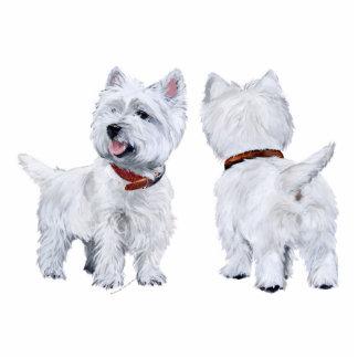 Westhochland weißes Terrier Foto Figur