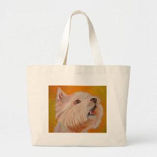 Westhochland weißes Terrier Jumbo Stoffbeutel