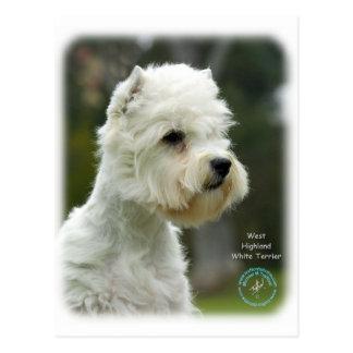 Westhochland weißes Terrier Postkarte