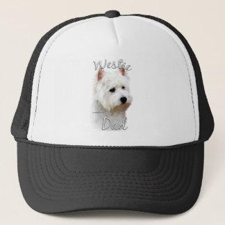 Westhochland-weißes Terrier-Vati 2 Truckerkappe