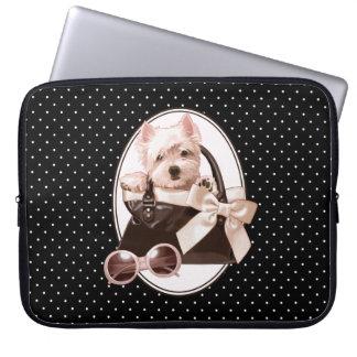 Westhochland-weißes Terrier-Welpe Laptop Schutzhülle