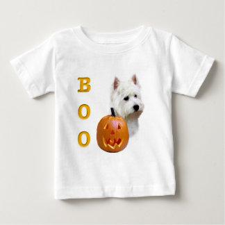 Westhochland-weißes TerrierBoo Baby T-shirt