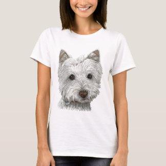 Westie Hund T-Shirt