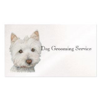 Westie HundeVisitenkarte Visitenkarten