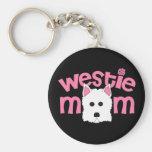 Westie Mamma Schlüsselbänder