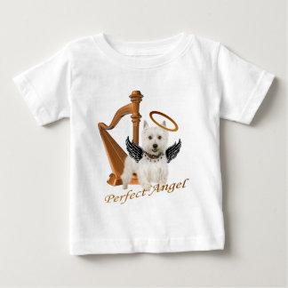 Westie perfekter Engel Baby T-shirt