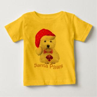 Westie Sankt Tatzen-Kleid Baby T-shirt