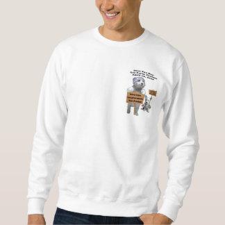 Westie Steuer-Tagestee-Party-Protest-Sweatshirt Sweatshirt