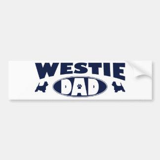 Westie Vati Auto Sticker