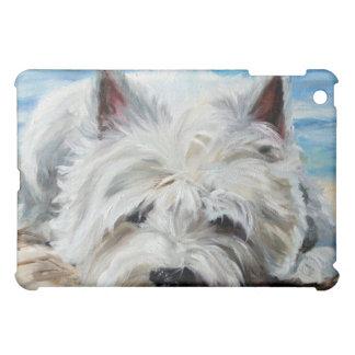 Westie Westabdeckung hochland-Terriers Ipad iPad Mini Hülle