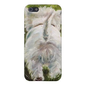 Westie Westhochland-Terrier-HundiPhone Fall iPhone 5 Schutzhülle