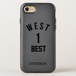 Westküste, beste Küste All-Star- OtterBox Symmetry iPhone 8/7 Hülle