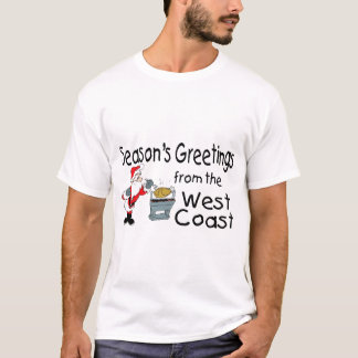 Westküsten-Grüße GRILLEN T-Shirt