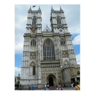 Westminster Abbey Postkarte