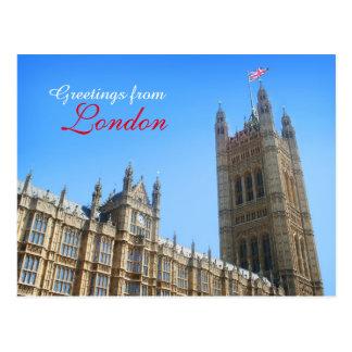 Westminster-Ansicht-Postkarte Postkarte