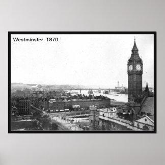 Westminster-Druck Poster