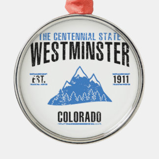 Westminster Silbernes Ornament