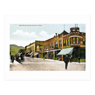 Westmittelstraße, Pocatello, Idaho Postkarte