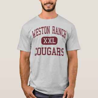 Weston Ranch - Pumas - hoch - Stockton T-Shirt