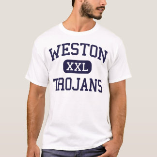 Weston - Trojan - hoch - Weston Connecticut T-Shirt