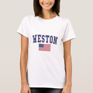 Weston US Flagge T-Shirt
