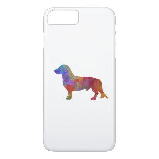 Westphalian Dachsbracke im Watercolor iPhone 8 Plus/7 Plus Hülle
