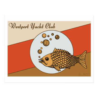 Westport Yachtclub Postkarte
