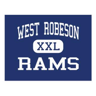 WestRobeson - RAMs - hoch - Pembroke Postkarte