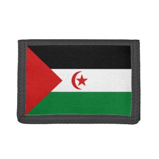 Westsahara-Flaggen-Geldbörse