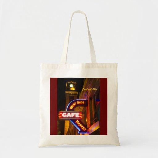 Westseiten-Markt-Neon-Tasche