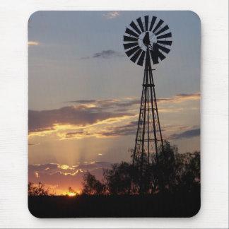 Westtexas-Windmühle Mauspads