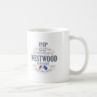 Westwood, Kentucky 50. Jahrestags-Tasse Kaffeetasse