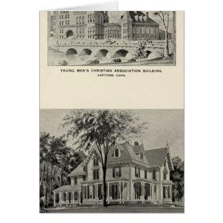 Westwood, YMCA, Hartford Karte