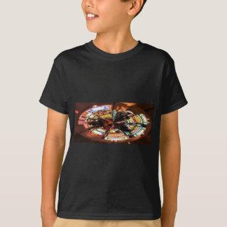 Wette auf ihr T-Shirt