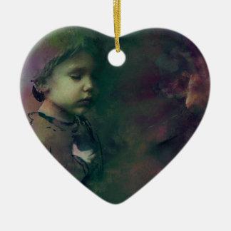 Wetten auf den Möglichkeiten Keramik Herz-Ornament