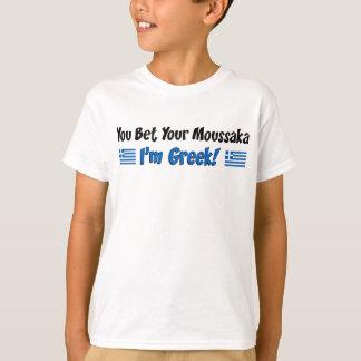 Wetten Sie Ihren Moussaka Griechen T-Shirt