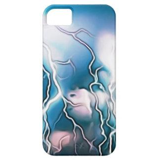Wetter-Beleuchtungs-Bolzen-Himmel-Skyline-Regen iPhone 5 Cover