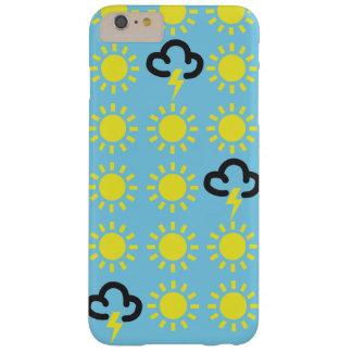 Wettergeschehen: Retro Wettervorhersagesymbole Barely There iPhone 6 Plus Hülle