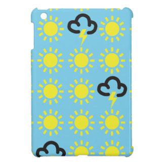 Wettergeschehen: Retro Wettervorhersagesymbole iPad Mini Hüllen
