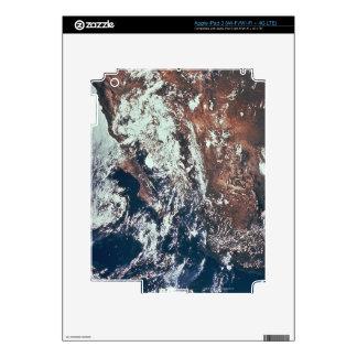 Wettergeschehen über Erde Aufkleber Fürs iPad 3