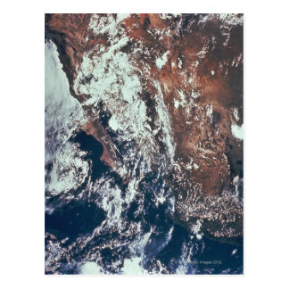 Wettergeschehen über Erde Postkarten