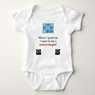 Wettersymbole babygrow baby strampler