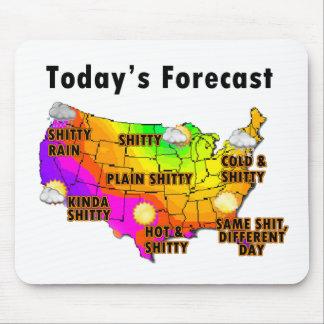 Wettervorhersage Mauspad