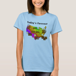 Wettervorhersage T-Shirt