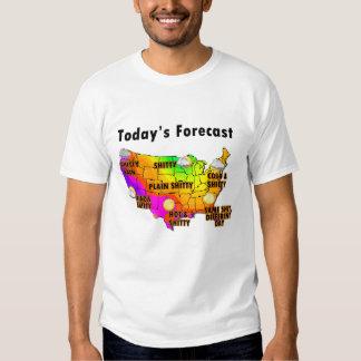Wettervorhersage Tshirts