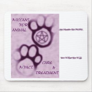 WFACT Wiccans für Tierpflege u Behandlung Aufla Mauspads