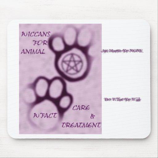 WFACT (Wiccans für Tierpflege u. Behandlung) Aufla Mauspads