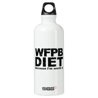 WFPB I sind es wert (Schwarzes) Wasserflasche